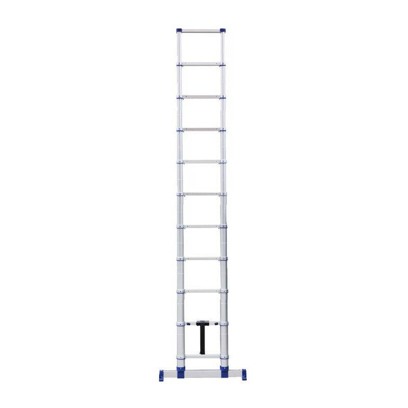 Tubesca Comabi - Echelle télescopique 4.10M 11 marches alu X-Tenso 2