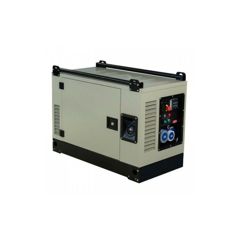 FOGO Groupe électrogène essence 9.5kw AVR silencieux moteur Vanguard