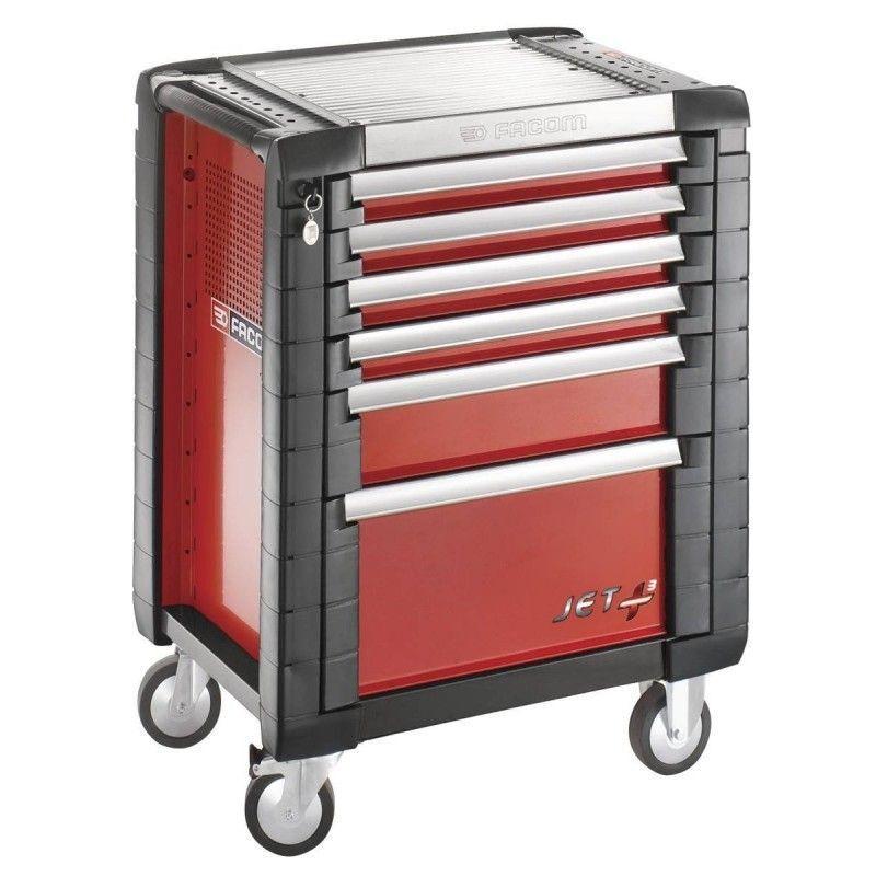 Facom - JET.6M3PB. Servante JETM3 6 tiroirs rouge 1254.69