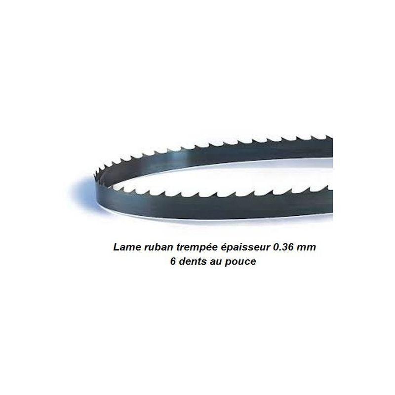 PROBOIS Lame de scie à ruban 1085 mm largeur 6 épaisseur 0.36 mm - PROBOIS