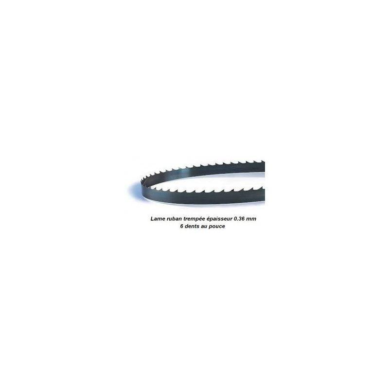 PROBOIS Lame de scie à ruban 2225 mm largeur 6 épaisseur 0.36 mm - PROBOIS