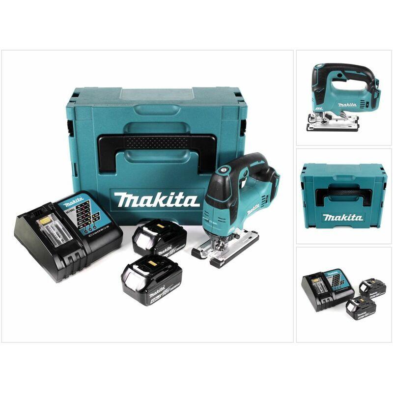 Makita DJV 182 RMJ Scie sauteuse sans fil 18V Brushless + 2x Batteries