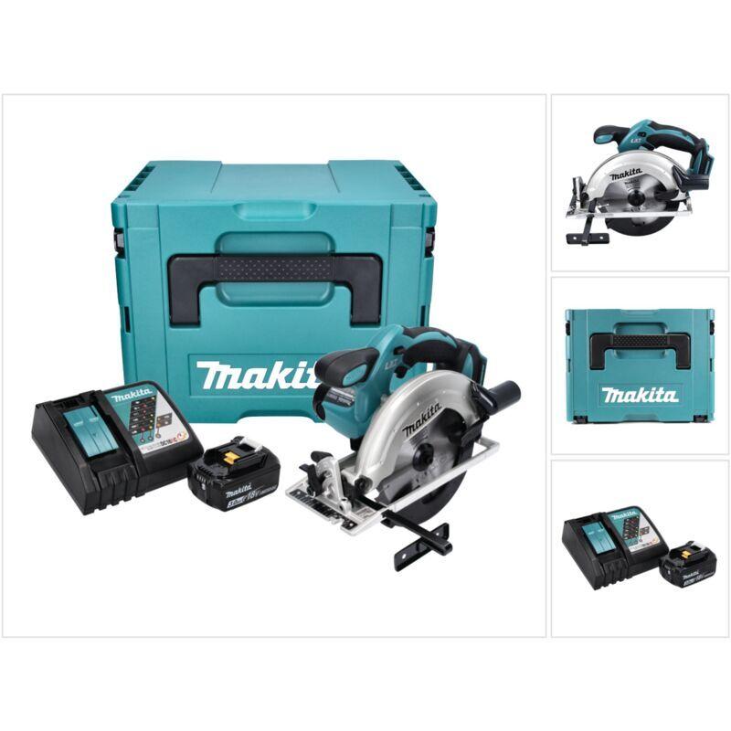 Makita DSS 611 RF1J 18V Li-ion Scie Circulaire sans fil 165mm + Coffret