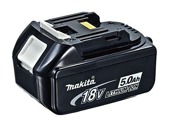 Makita Scie à onglet et radiale de batterie 18V, 4,0Ah avec 2batteries,