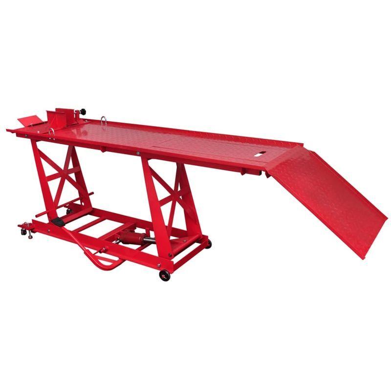 Topdeal VDTD07616_FR Pont élévateur plateforme hydraulique pour moto
