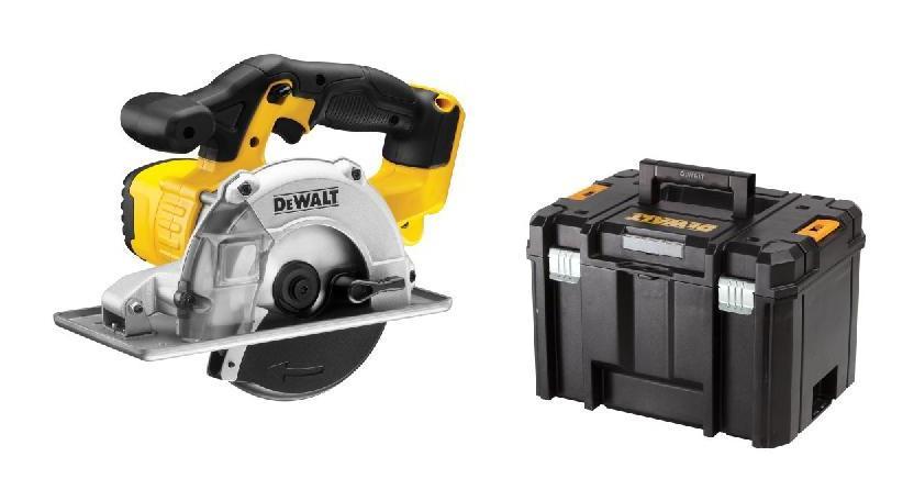DEWALT Scie circulaire DEWALT 18V XR - Sans batterie ni chargeur - En coffret