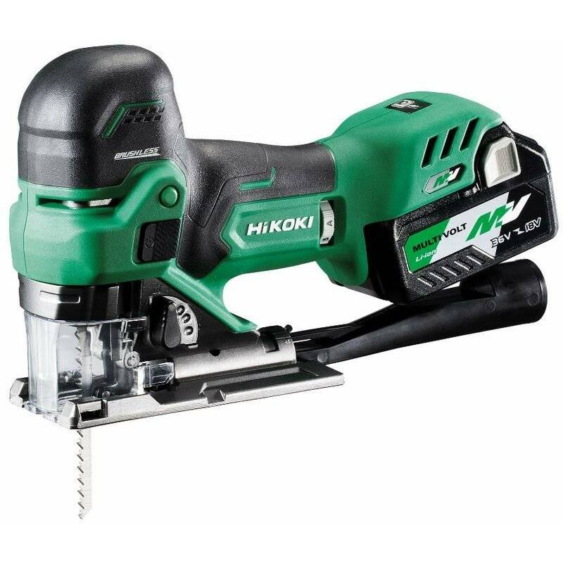 Hikoki - Scie sauteuse 160mm 36V 2,5Ah MultiVolt Li-ion Brushless
