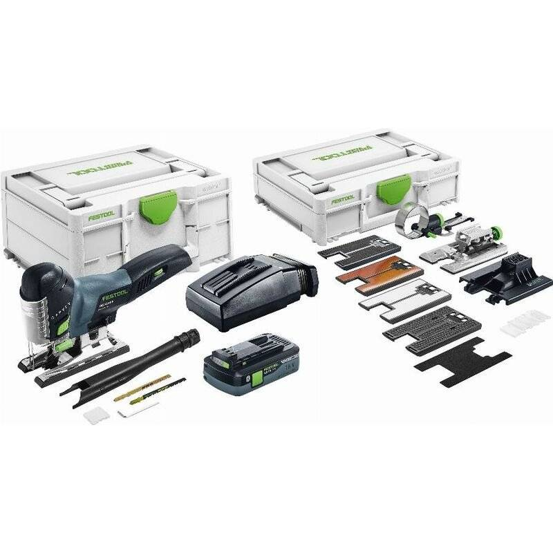 FESTOOL Scie sauteuse sans fil PSC 420 HPC EBI-Set CARVEX - Batterie 4Ah +