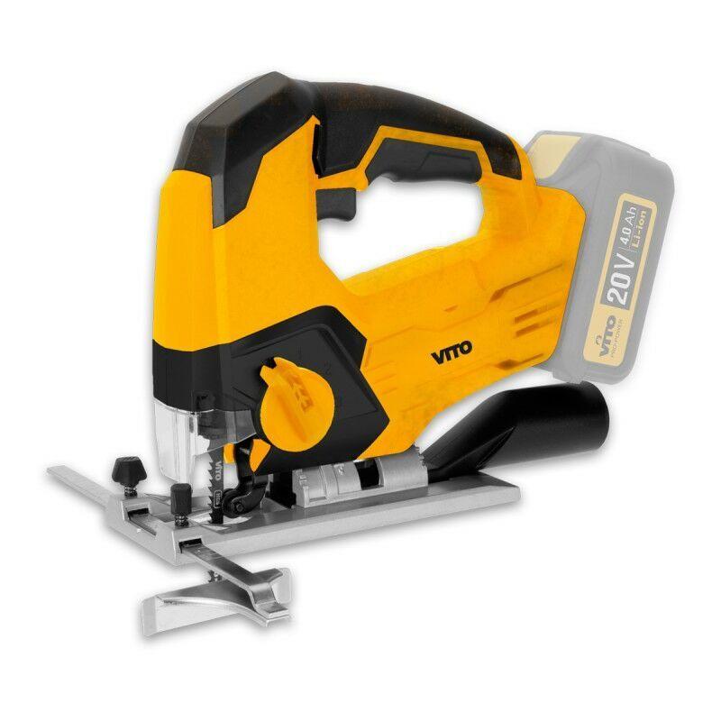 VITO PRO-POWER Scie Sauteuse sans fil VITOPOWER 20 V sans batterie - VITO PRO-POWER