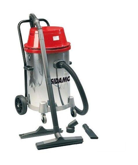 SIDAMO Aspirateur eau et poussières cuve inox MC 55 i - 55 L - 230V 2x 1000W