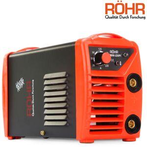 Röhr MINI-220PI - Poste à souder à l'arc - onduleur / MMA - 240V - 220A - Publicité