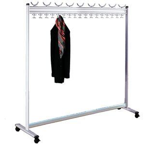 KERKMANN Vestiaire, h x p 1700 x 400 mm - sans porte-parapluies - largeur 1700 - Publicité