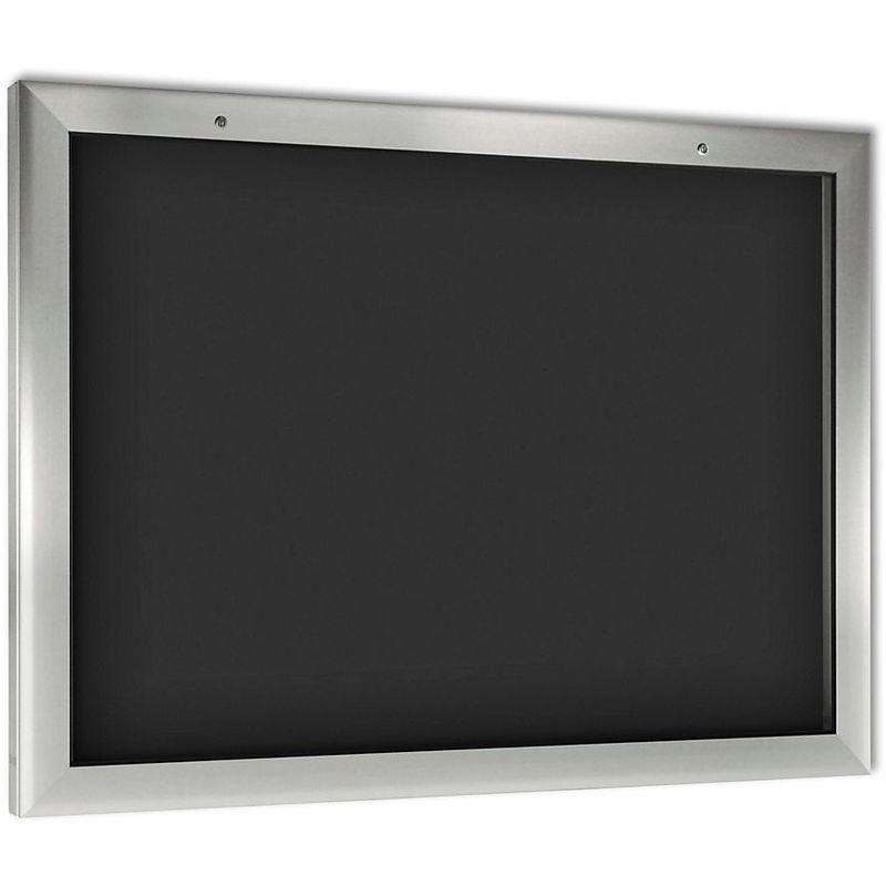 CERTEO Vitrine d'affichage pour l'intérieur et l'extérieur - format horizontal