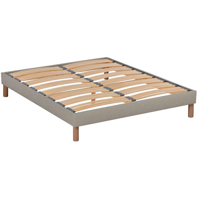 NUIT DE COTON   Sommier en kit   beige   140x200 cm