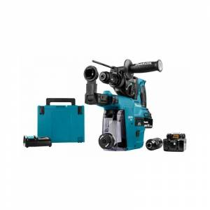 Makita DHR243RTJW Perfo-burineur SDS-Plus 18 V Li-Ion 5 Ah 24 mm (2x - Publicité