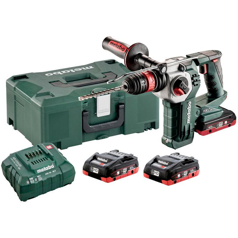 Metabo KHA 18 LTX BL 24 Set rapide Batterie LiHD 18V Set combi marteau