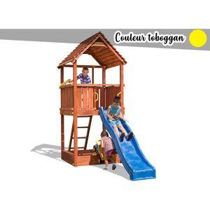 FUNGOO Aire de jeux Joy + Toboggan Jaune - Publicité