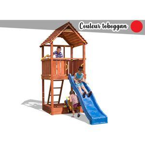 Fungoo - Aire de jeux Joy + Toboggan Rouge - Publicité