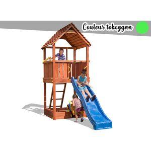 Fungoo - Aire de jeux Joy + Toboggan Vert - Publicité