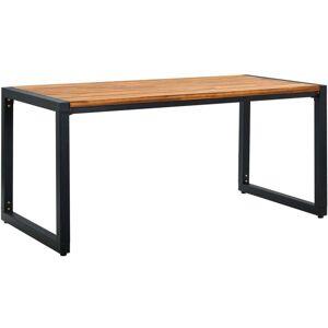 Youthup - Table de jardin aux pieds en U 160x80x75cm Bois d'acacia - Publicité