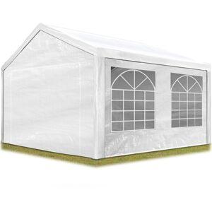 INTENT24.FR Tente de réception 3x4 m pavillon blanc bâche PE épaisse d'env.180g/m² - Publicité