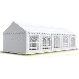 Intent24.fr - Tente de réception/Barnum 5x10 m - ignifugee blanc toile - Publicité