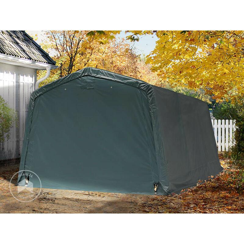 INTENT24.FR Abri/Tente garage PREMIUM 3,3 x 4,8 m pour voiture et bateau - toile