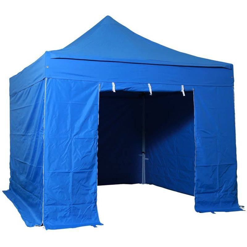 Interouge - Barnum pliant tonnelle 3x3m Pack complet Alu 40 polyester