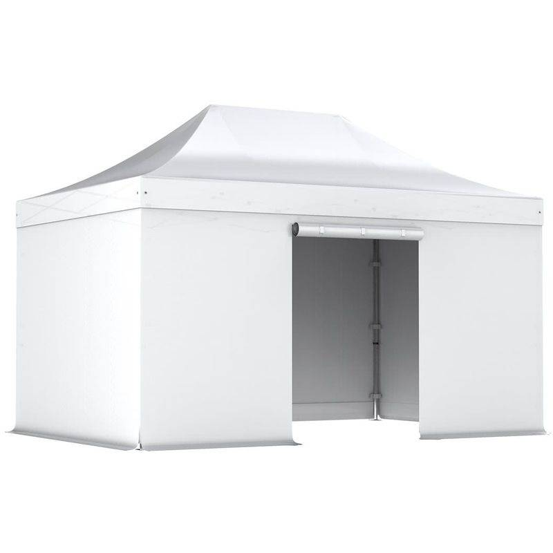 Interouge - Barnum pliant tonnelle 3x4.5m Pack complet Alu 40 polyester