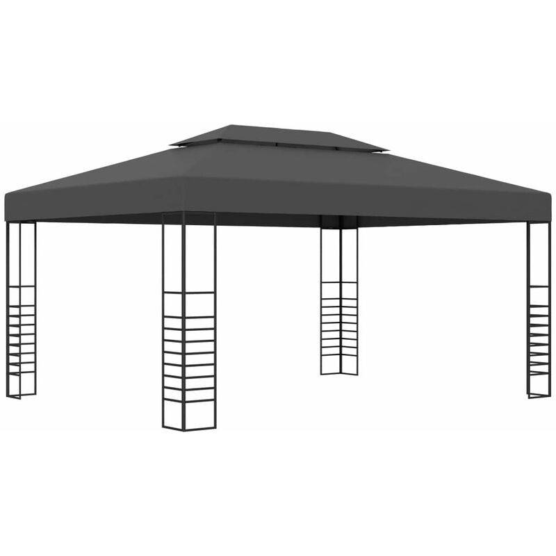 HOMMOO Tonnelle 3x4 m Anthracite HDV46226 - Hommoo