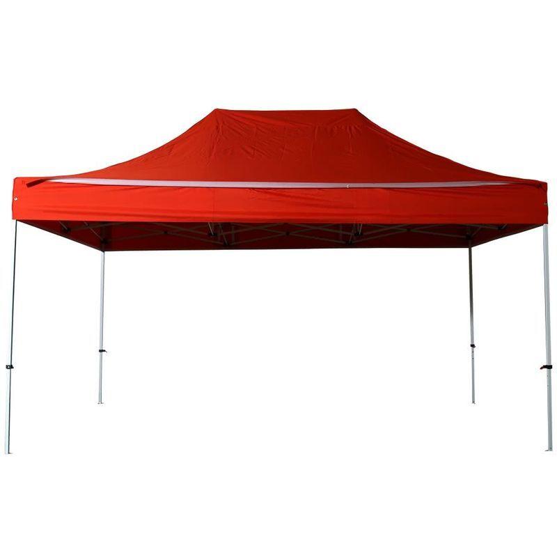 Interouge - Tente pliante pergola tente de jardin tonnelle 3x4,5 M