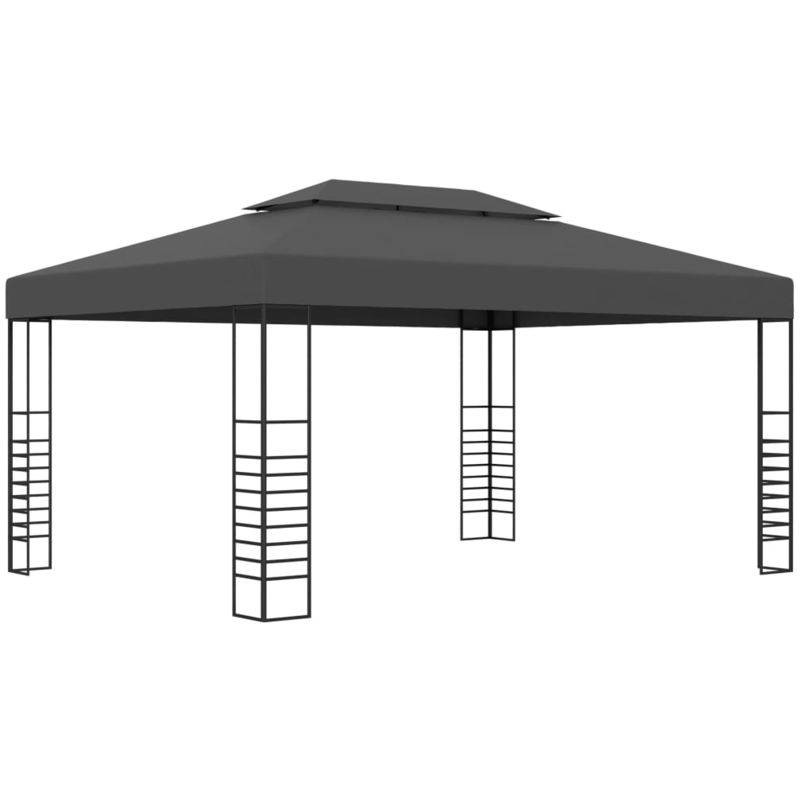 ASUPERMALL Tonnelle 3x4 m Anthracite