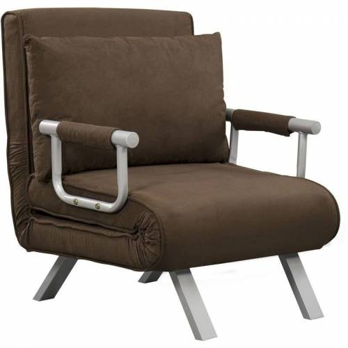 HOMCOM Fauteuil chauffeuse canap...
