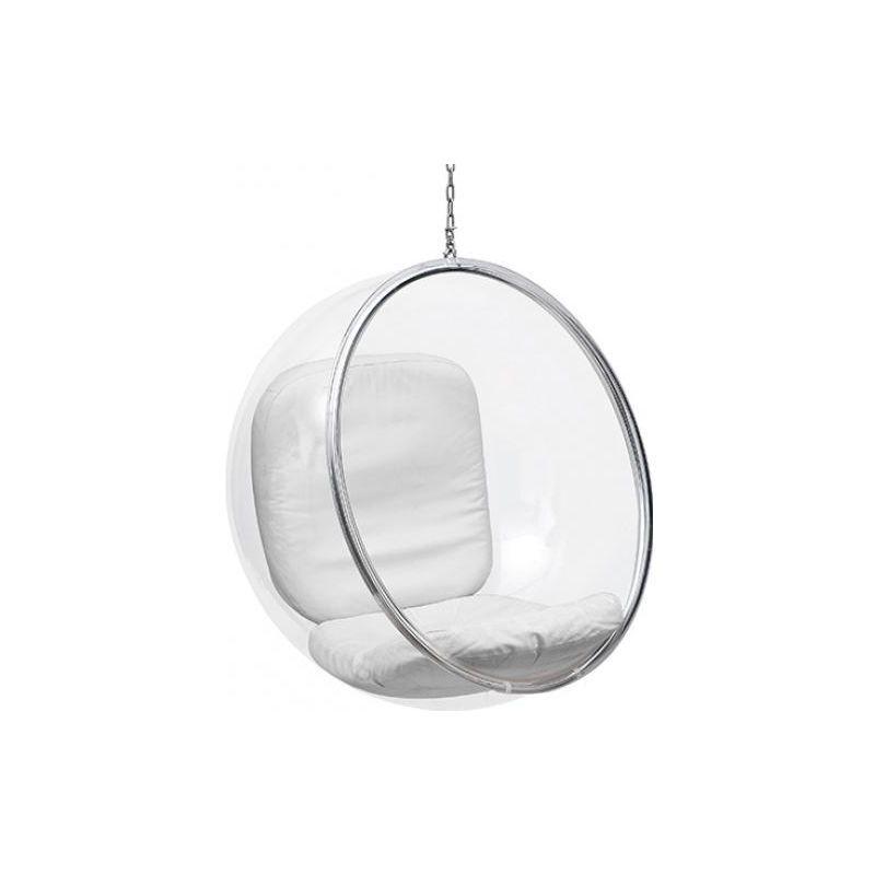 Privatefloor - Fauteuil suspendu Bubble Chair Eero Aarnio Blanc