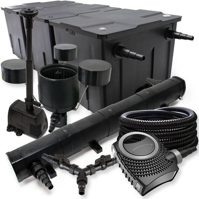 WILTEC SunSun Kit filtration bassin 90000l 72W Stérilisateur NEO10000 80W