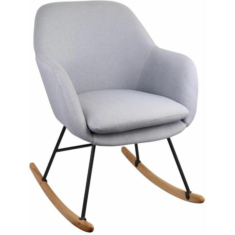 ATMOSPHERA Rocking Chair Pera Gris - Atmosphera - Gris