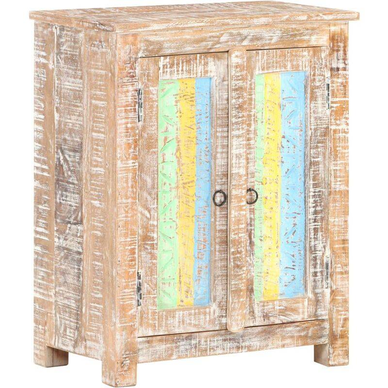 YOUTHUP Buffet 61x35x76 cm Bois d'acacia brut - YOUTHUP