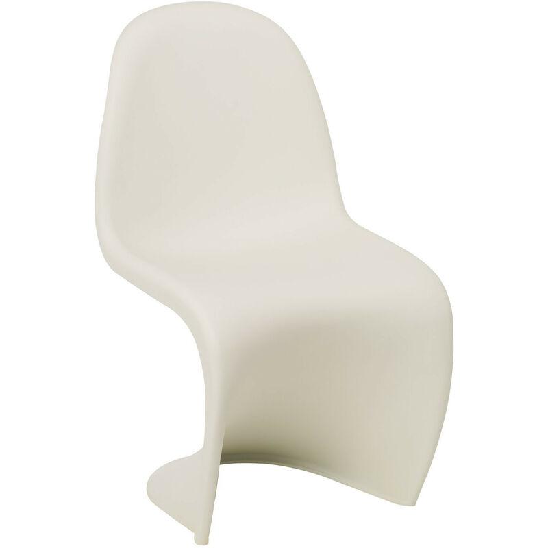 SKLUM Chaise Ton Blanc Polypropylène - Blanc - Sklum
