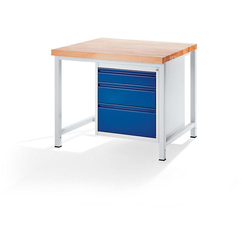 RAU Etabli, stable - 3 tiroirs taille L – hauteur de chaque 1 x