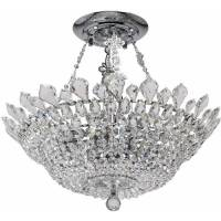Mw-light - Crystal Patricia chrome metal transparent glass transparent <br /><b>661.34 EUR</b> ManoMano.fr