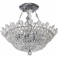 MW-LIGHT Crystal Patricia chrome metal transparent glass transparent crystal <br /><b>661.34 EUR</b> ManoMano.fr