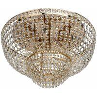Mw-light - Crystal Patricia gold metal transparent crystal 6*40W E14 <br /><b>915.42 EUR</b> ManoMano.fr