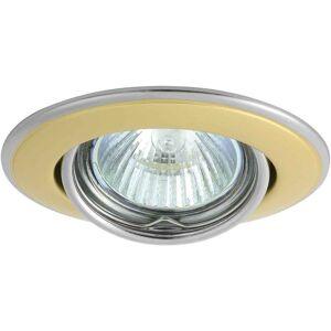 KANLUX Spot Encastrable bi-finition HORN Or Rond GU5.3/GU10 IP20 Orientable - Publicité