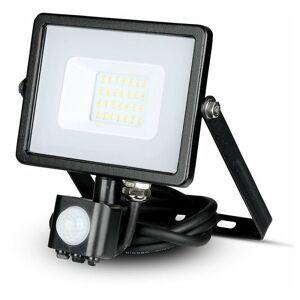 V-tac Pro - Projecteur LED Extérieur Avec Détecteur Infrarouge Pro 20W - Publicité