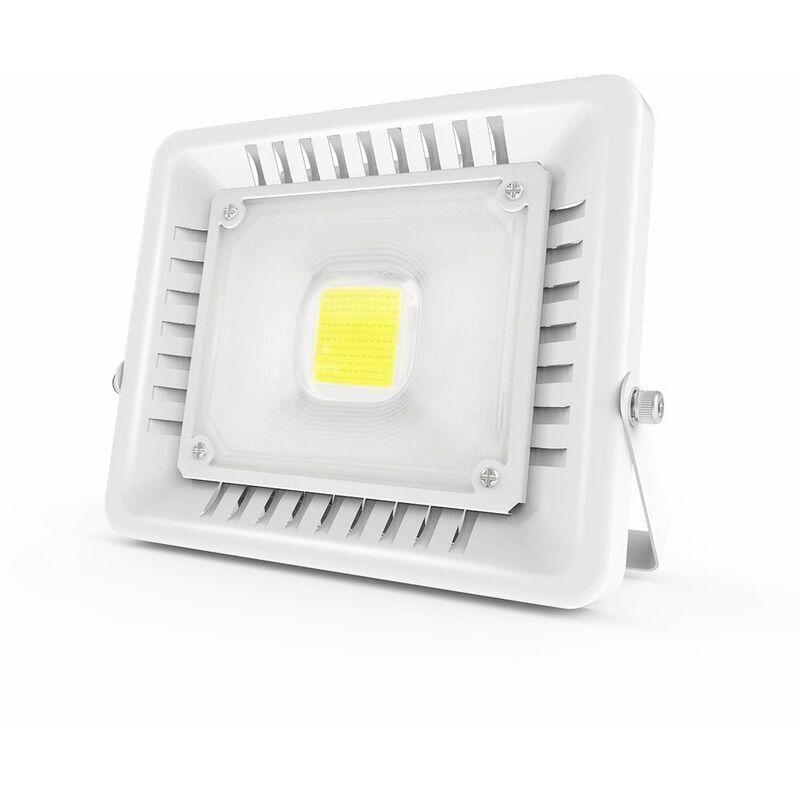 ANTEN 50W Projecteur LED IP65 Étanche Ultra-Mince Spot LED Léger Puissant