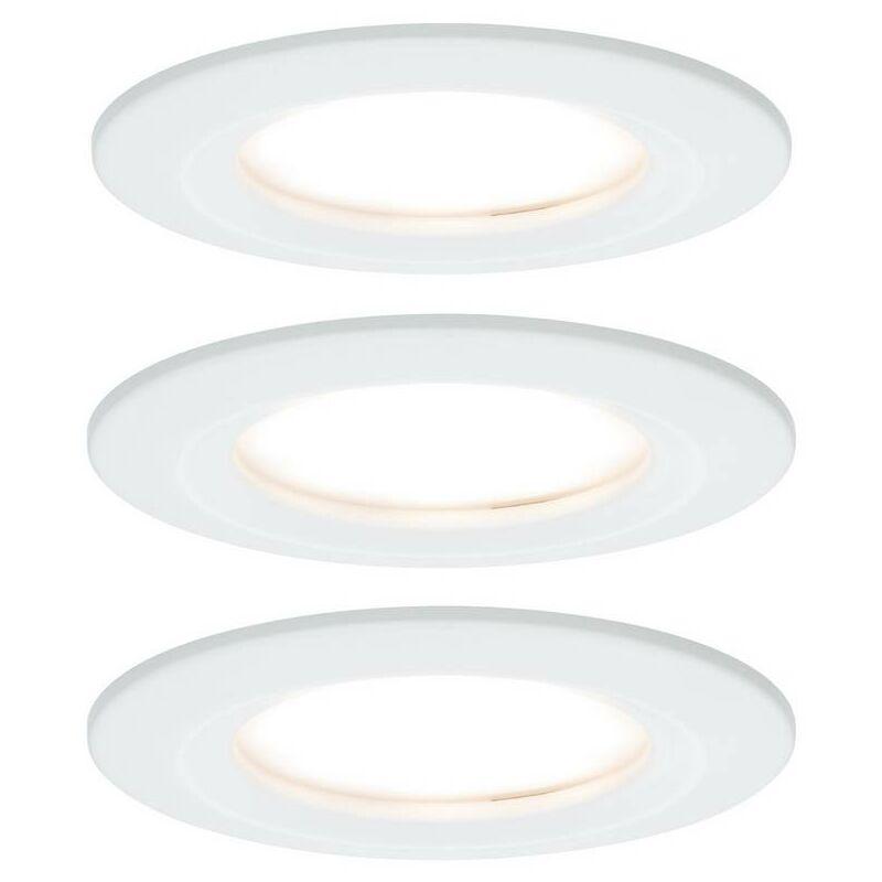 PAULMANN Spot encastrable pour salle de bains Nova 93460 LED Puissance: 19.5 W