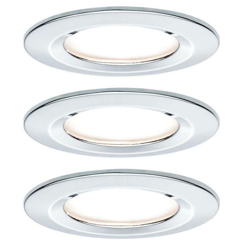 PAULMANN Spot encastrable pour salle de bains Nova 93499 LED Puissance: 19.5 W