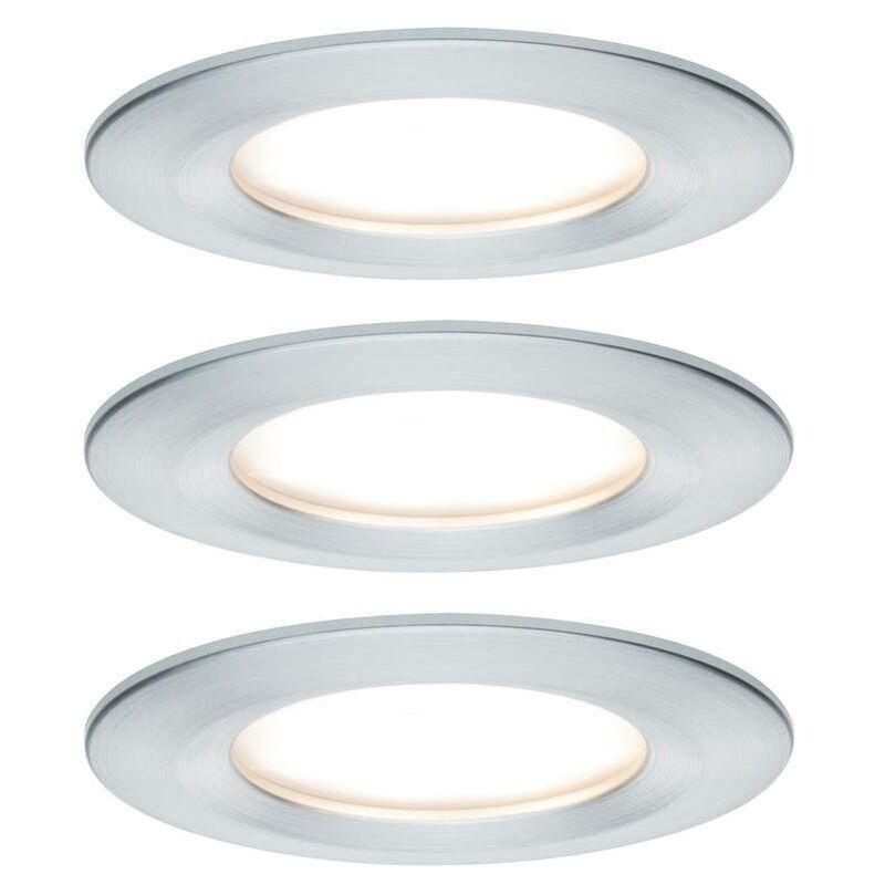 PAULMANN Spot encastrable pour salle de bains Paulmann Nova 93498 LED Puissance: