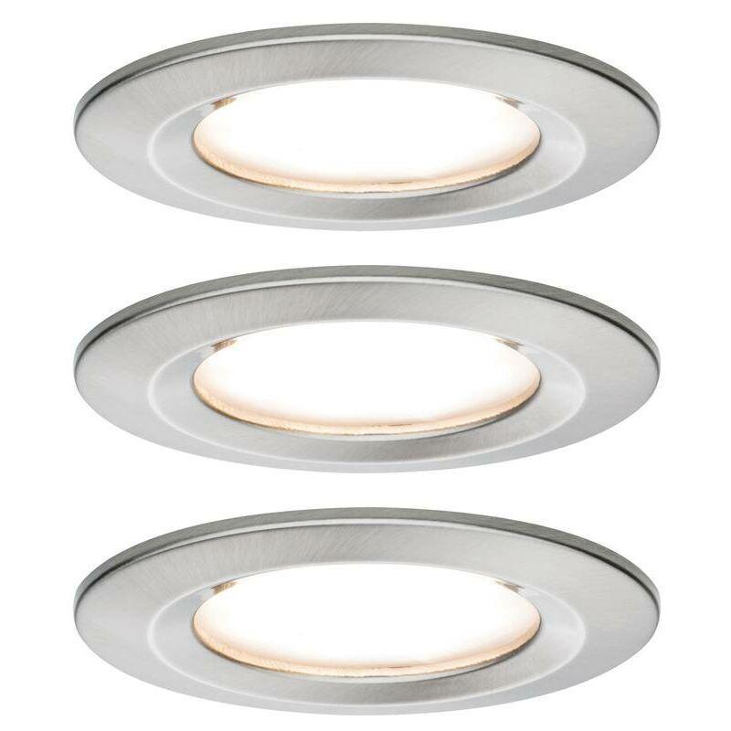 PAULMANN Spot encastrable pour salle de bains Nova 93494 LED Puissance: 19.5 W