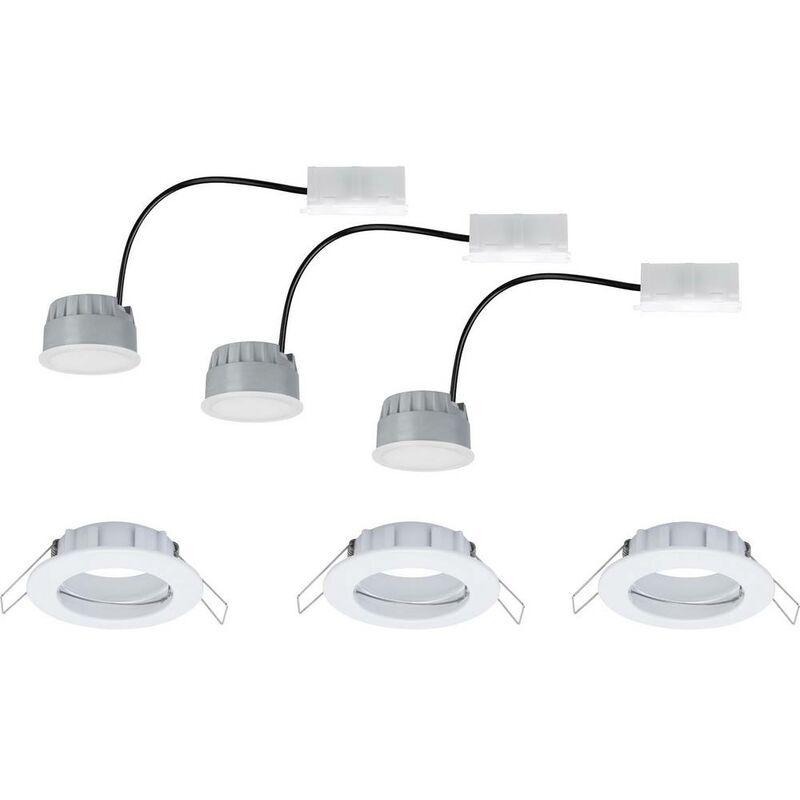 PAULMANN Spot LED encastrable pour salle de bains Paulmann Coin 93956 LED